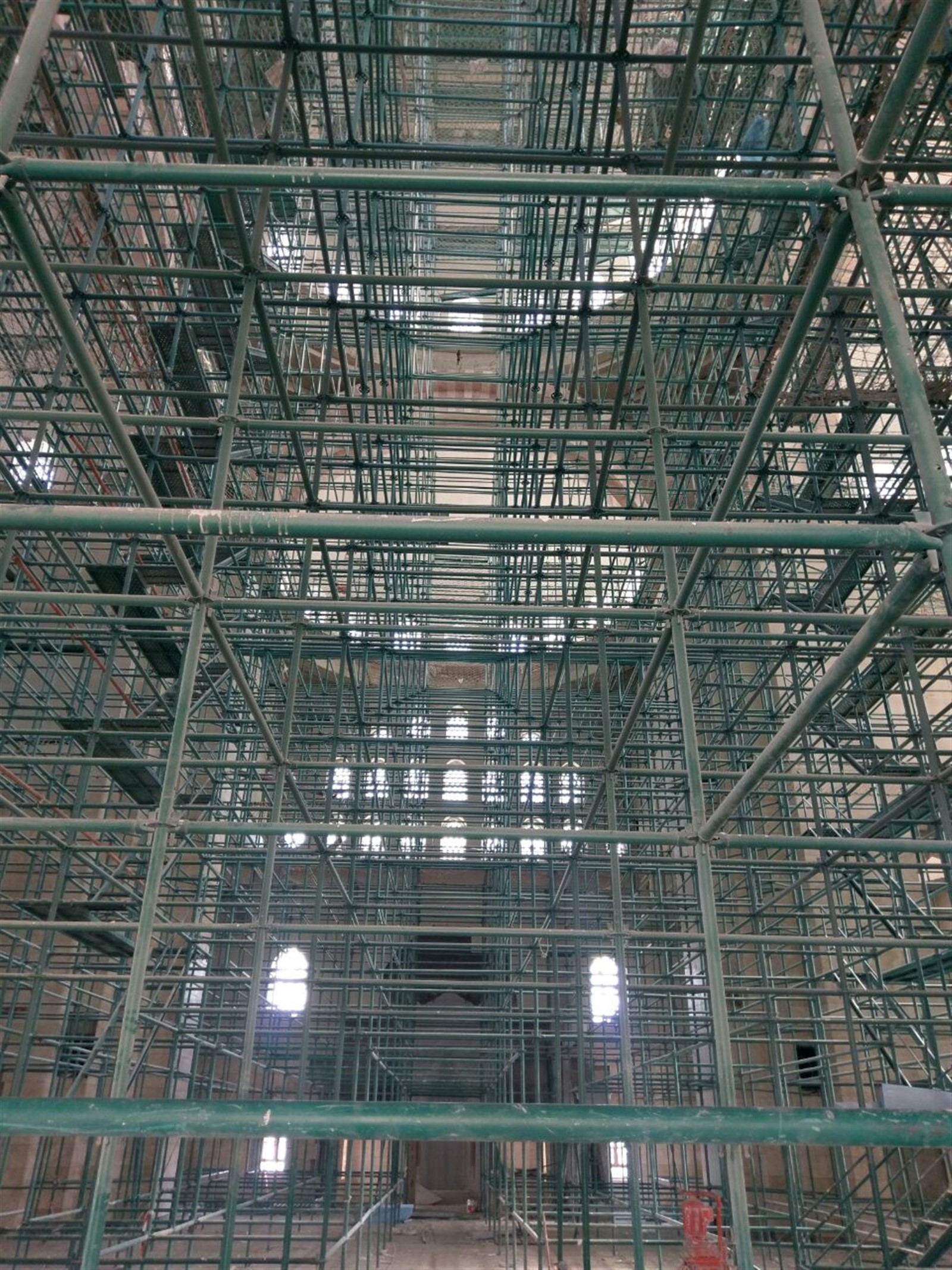 Flanged Type Scaffolding System with Paint Coated